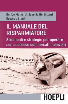 Camfeed.it Il manuale del risparmiatore. Strumenti e strategie per operare con successo sui mercati finanziari Image