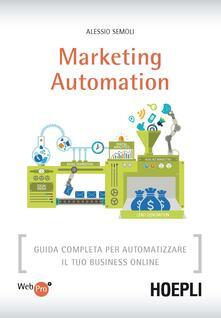 Daddyswing.es Marketing automation. Guida completa per automatizzare il tuo business online Image