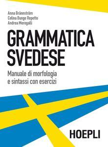 Grammatica svedese. Manuale di morfologia e sintassi con esercizi.pdf