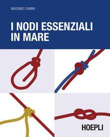 I nodi essenziali in mare - Massimo Caimmi - copertina