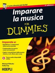 Listadelpopolo.it Imparare la musica For Dummies Image