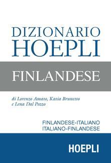 Listadelpopolo.it Dizionario Hoepli finlandese. Finlandese-italiano, italiano-finlandese Image
