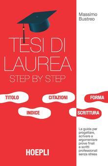 Adiaphora.it Tesi di laurea step by step. La guida per progettare, scrivere e argomentare prove finali e scritti professionali senza stress Image