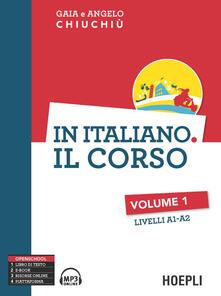 Promoartpalermo.it In italiano. Il corso. Livelli A1-A2. Vol. 1 Image