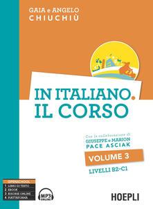 Camfeed.it In italiano. Il corso. Livello B2-C1. Vol. 3 Image