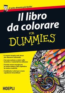 Il libro da colorare For Dummies - copertina