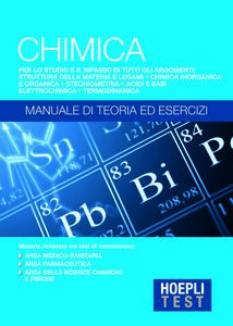 Libro Hoepli Test. Chimica. Manuale di teoria ed esercizi