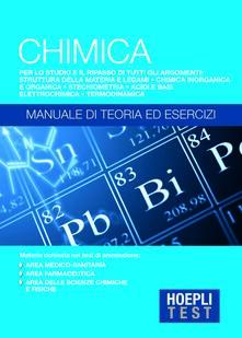 Hoepli Test. Chimica. Manuale di teoria ed esercizi - copertina