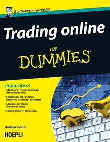 Promoartpalermo.it Trading online For Dummies Image