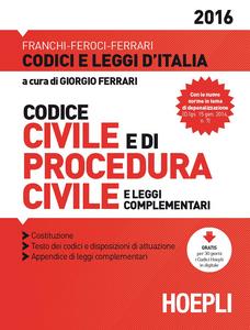 Libro Codice civile e di procedura civile