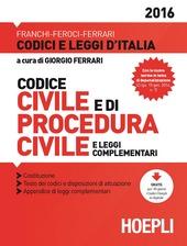 Codice civile e di procedura civile
