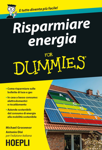 Libro Risparmiare energia for Dummies Michael Grosvenor