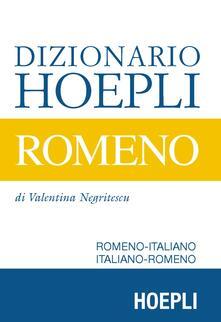 Letterarioprimopiano.it Dizionario Hoepli romeno. Romeno-italiano, italiano-romeno Image
