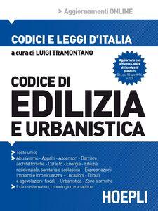 Foto Cover di Codice di edilizia e urbanistica, Libro di  edito da Hoepli
