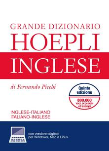 Radiospeed.it Grande dizionario di inglese. Inglese-italiano, italiano-inglese. Con aggiornamento online Image