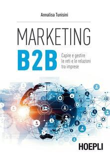 Marketing B to B - Annalisa Tunisini - copertina