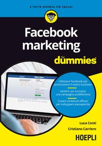 Libro Facebook marketing For Dummies Luca Conti , Cristiano Carriero