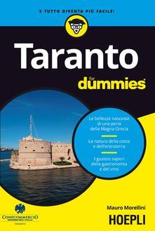 Taranto for dummies - Mauro Morellini - copertina