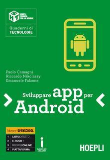 Letterarioprimopiano.it Sviluppare App per Android Image
