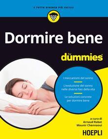 Mercatinidinataletorino.it Dormire bene for dummies Image