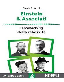 Einstein & associati. Il coworking della relatività - Elena Rinaldi - copertina
