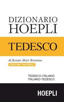 Dizionario di tedesco. Tedesco-italiano, italiano-tedesco. Ediz. compatta - Renate Meier Brentano - copertina