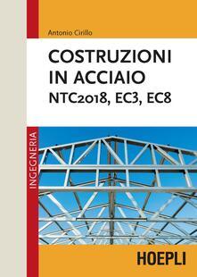 Letterarioprimopiano.it Costruzioni in acciaio. NTC2018, EC3, EC8 Image