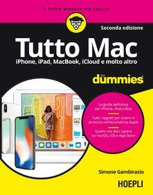 Nordestcaffeisola.it Tutto Mac for dummies. IPhone, iPad, iMac, MacBook, iTunes e molto altro Image