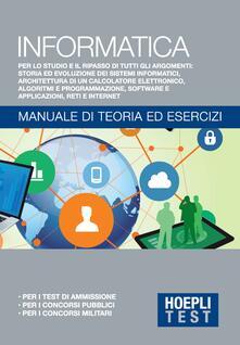 Informatica generale. Manuale di teoria ed esercizi - Ulrico Hoepli - ebook
