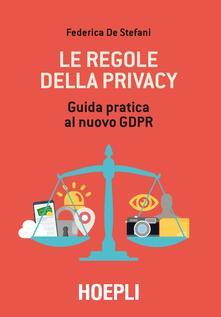 Winniearcher.com Le regole della privacy. Guida pratica al nuovo GDPR Image