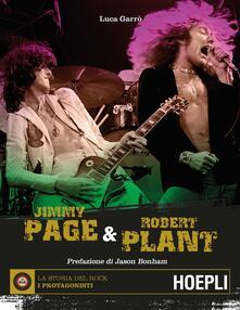 Jimmy Page & Robert Plant - Luca Garrò - copertina