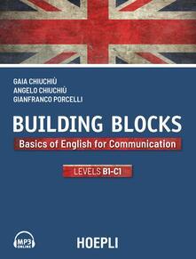 Promoartpalermo.it Building Blocks. Basics of English for Communication. Level B1-C1 Image