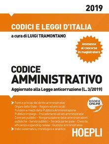 Codice amministrativo 2019 - copertina