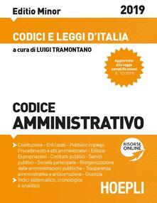 Codice amministrativo 2019. Ediz. minore. Con espansione online - copertina