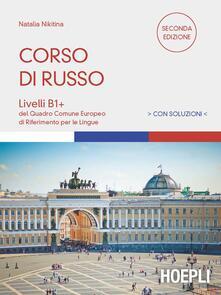 Corso di russo. Livelli B1-B2 - Natalia Nikitina - copertina
