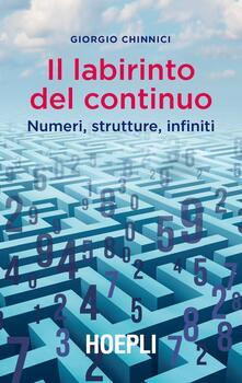 Antondemarirreguera.es Il labirinto del continuo. Numeri, strutture, infiniti Image