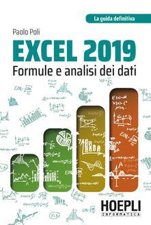 Winniearcher.com Excel 2019. Formule e analisi dei dati Image