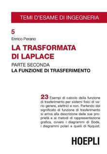 Vitalitart.it La trasformata di Laplace. Vol. 2: La funzione di trasferimento. Image