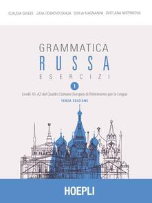 Letterarioprimopiano.it Grammatica russa. Esercizi. Vol. 1 Image