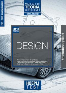 Hoepli Test. Design. Manuale di teoria con esempi. Per i corsi di laurea in Design.pdf