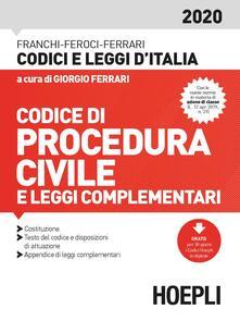 Codice procedura civile e leggi complementari 2020.pdf