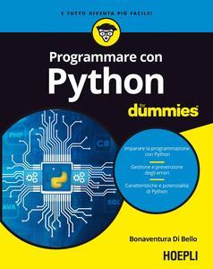 Libro Programmare con Python For Dummies Bonaventura Di Bello
