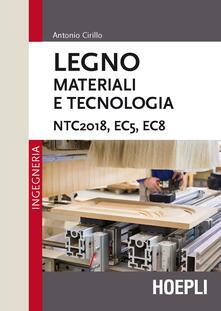 Camfeed.it Legno. Materiali e tecnologia. NTC2018, EC5, EC8 Image