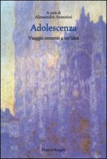 Adolescenza. Viaggio intorno ad un'idea - copertina