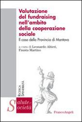 Valutazione del fundraising nell'ambito della cooperazione sociale. Il caso della provincia di Mantova