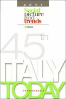 Italy today 2011. Social picture and trends - copertina