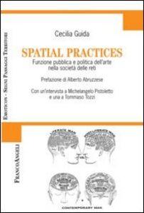 Foto Cover di Spatial practices. Funzione pubblica e politica dell'arte nella società delle reti, Libro di Cecilia Guida, edito da Franco Angeli