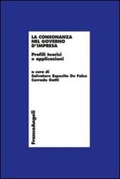 La consonanza nel governo d'impresa. Profili teorici e applicazioni