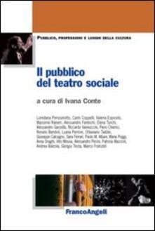 Il pubblico del teatro sociale - copertina
