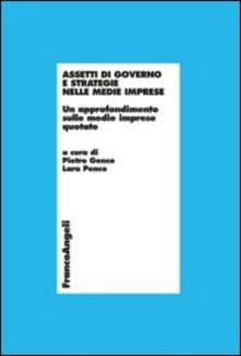 Assetti di governo e strategie nelle medie imprese. Un approfondimento sulle medie imprese quotate - copertina